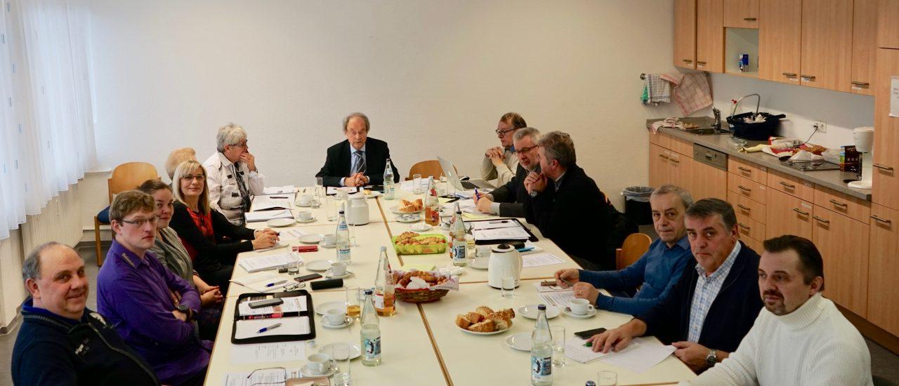 Arbeitstreffen des Vorstandes des Landesverbandes Baden-Württemberg am 02.02.19
