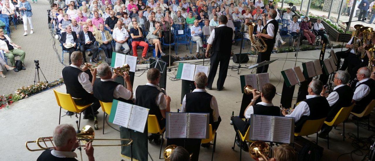 Blasmusikkonzert in Mannheim am Sonntag, dem 24. Juni 2018