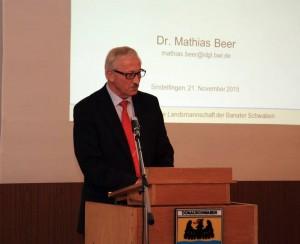 Ministerialdirigent Herbert Hellstern